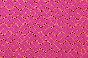 Novelty Spandex (Hot Pink/Orange)