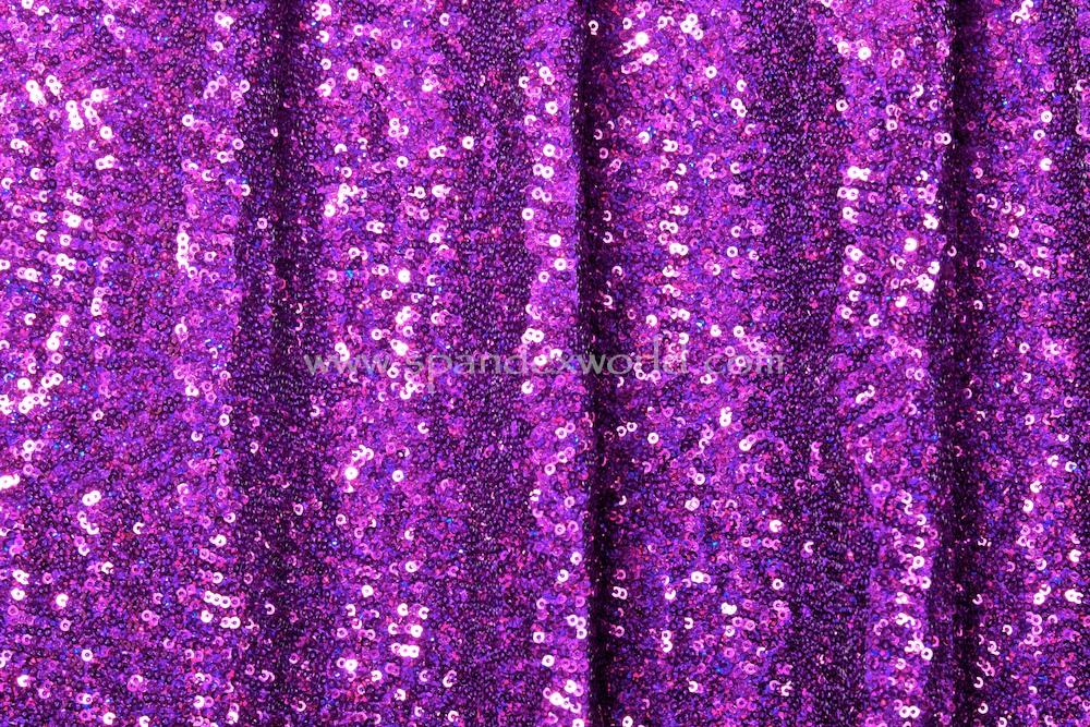Stretch Sequins (Purple/Purple)