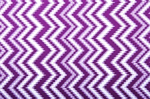 Aztec Print Spandex (Purple/White)