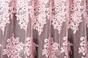Non Stretch Sequins (Pink/Pink)