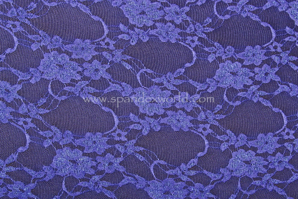 Stretch Lace (Dark Royal)