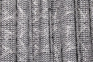 Metalic Fishnet (Black/Silver)