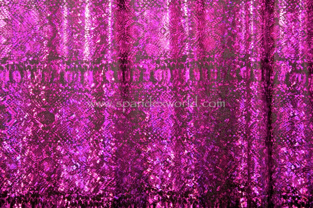 Animal Prints Hologram (Black/Fuchsia Holo)