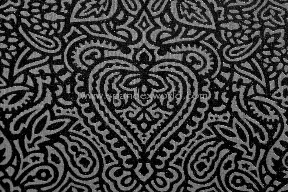 Burnout Velvet  (Black/Black)
