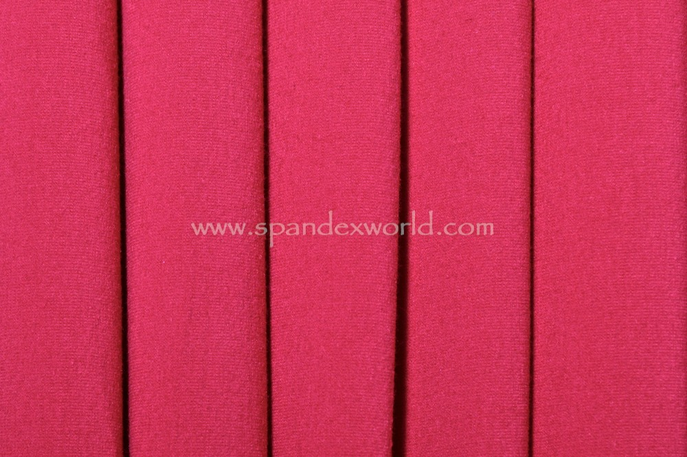 Cotton Lycra® (Hot pink) (Heavy-weight)