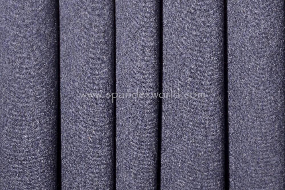 Cotton Lycra® (Heather Navy) (Heavy-weight)