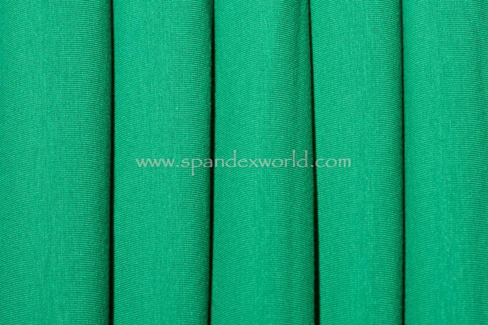 Cotton Lycra® (Kelly Green) (Heavy-weight)