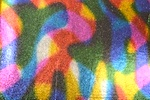 Pattern/Abstract Hologram (Multi/Black)