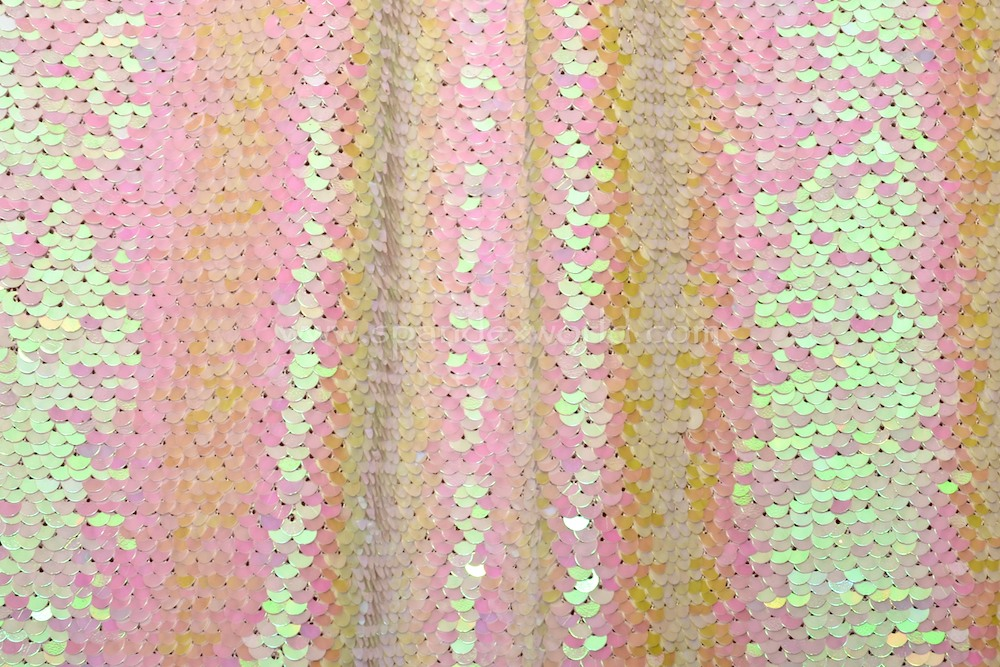 Stretch Sequins (White/Pearl)
