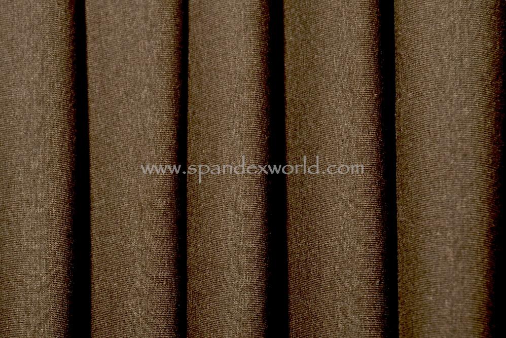 Cotton Lycra® -(Brown)- (Medium Weight)
