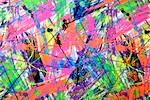 Pattern/Abstract Hologram (Black/Orange/Green/Purple/Multi Holo)