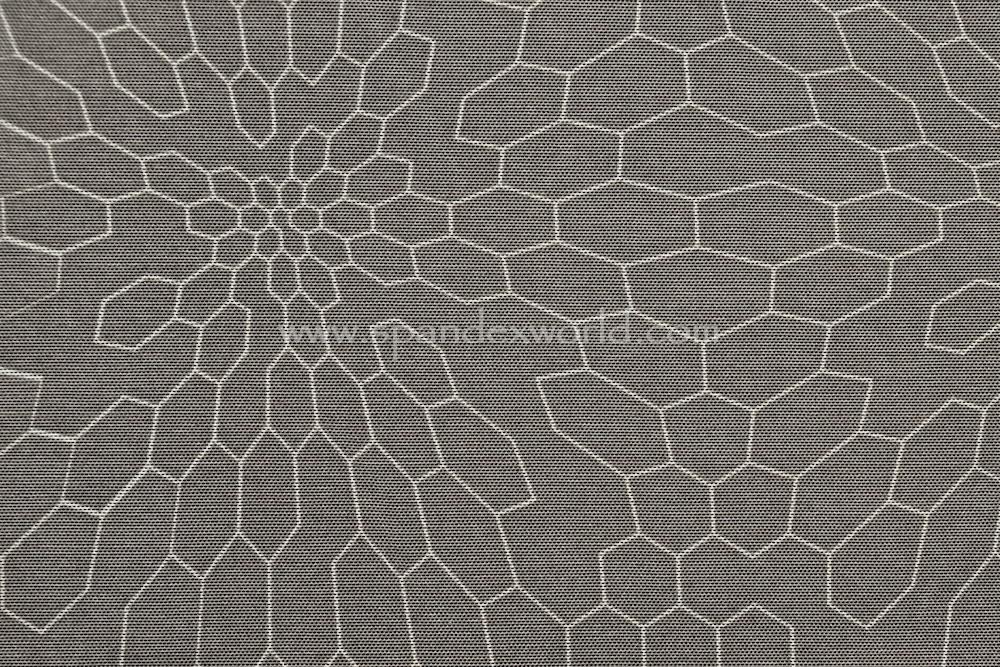 Printed Mesh (Dark Gray/White)
