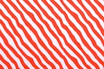 Printed Stripes (White/Red)