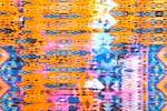 Abstract Print (Orange/Blue/Multi)