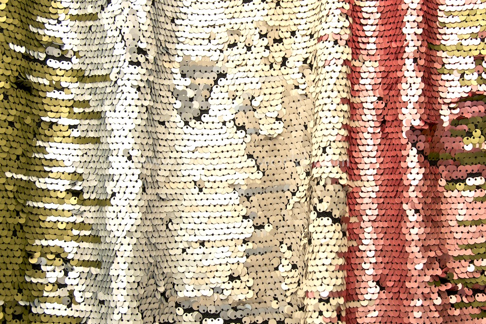 Stretch Sequins (Dusty Rose/Olive/Multi)
