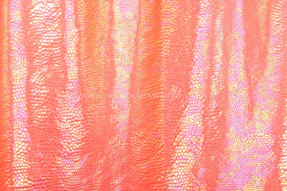 Animal prints hologram (Coral)