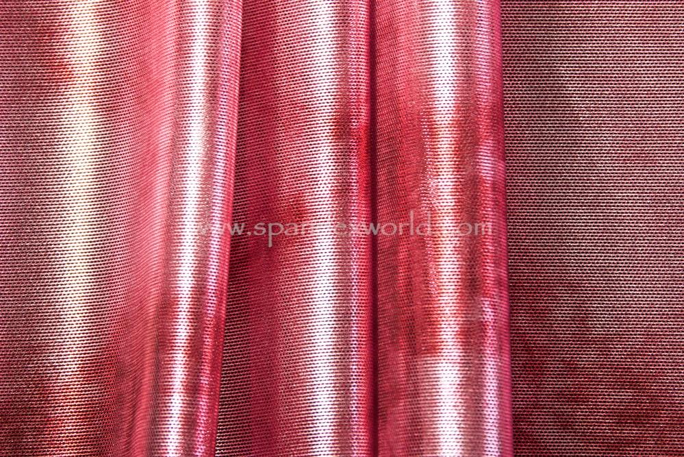 Metallic Mesh (Red Tie dye)