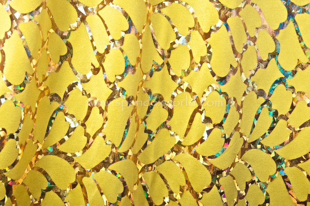 Pattern/Abstract Hologram (Yellow/Gold Holo)