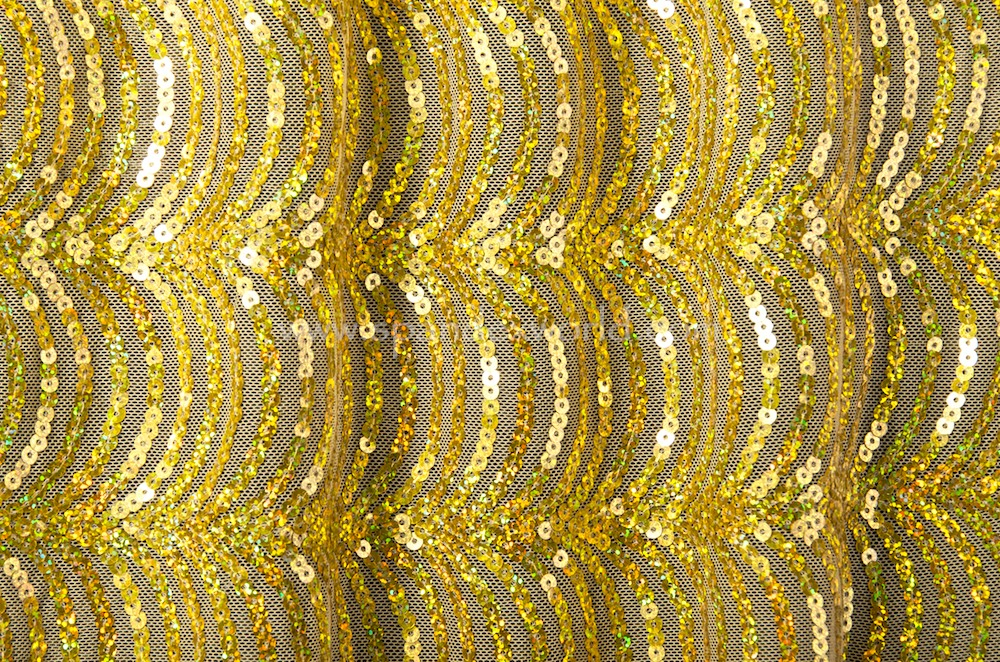 Non Stretch Sequins (Gold/Gold Holo)