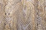 Cracked ice lace (Black/Gold)