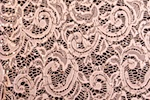 Stretch Sequins Lace (Vintage Rose)