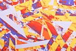 Abstract Print (Yellow/Red/Multi)