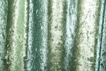 Metallic Stretch Velvet (Emerald/Mint)