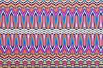 Abstract Print (Orange/Blue/Fuchsia/Multi)