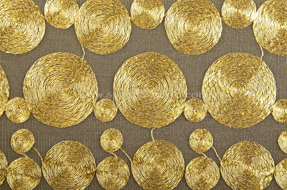 Non-Stretch Sequins (Gold/Gold)