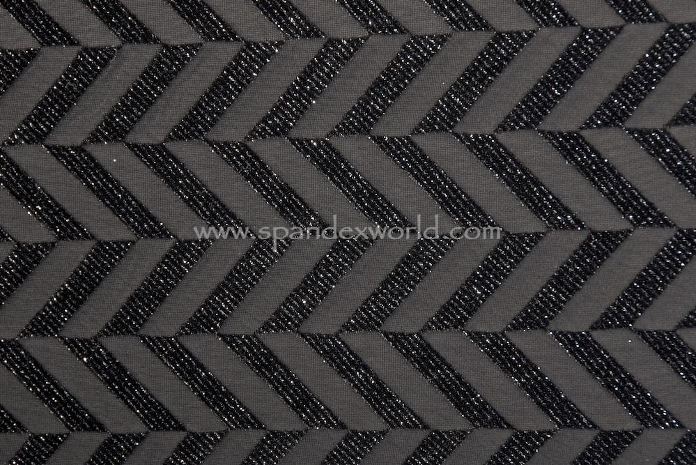 Burnout Velvet (Black/Black/Silver)