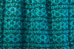 Stretch Metallic Lace (Teal/Blue)
