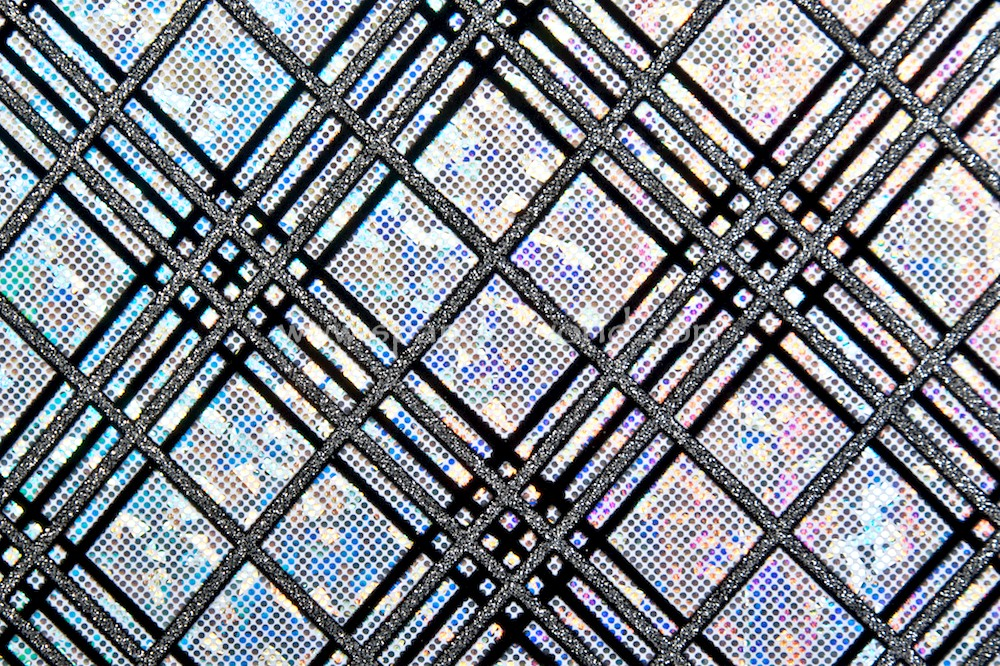 Pattern/Abstract Hologram (White/Silver Holo/Black)