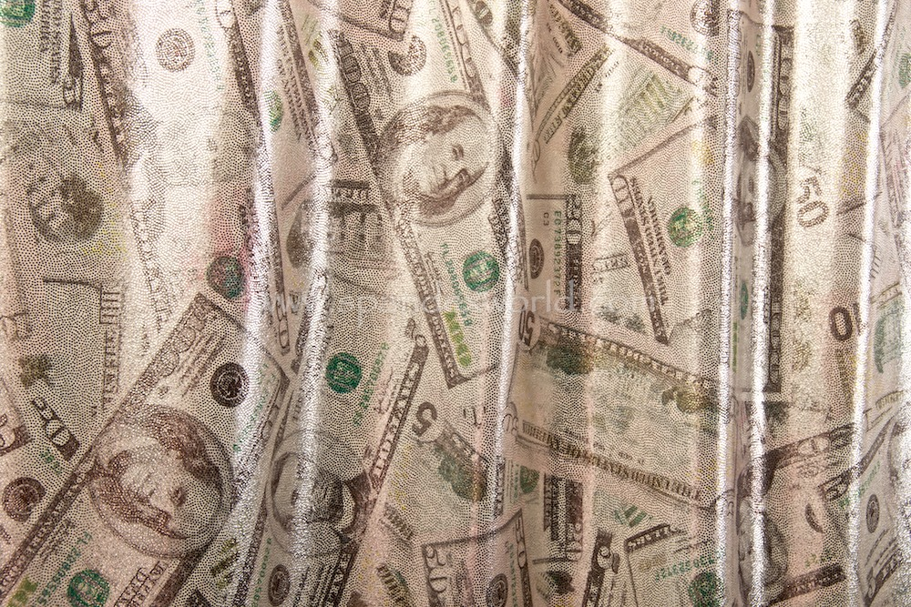 Pattern/Abstract Hologram (U.S dollar)