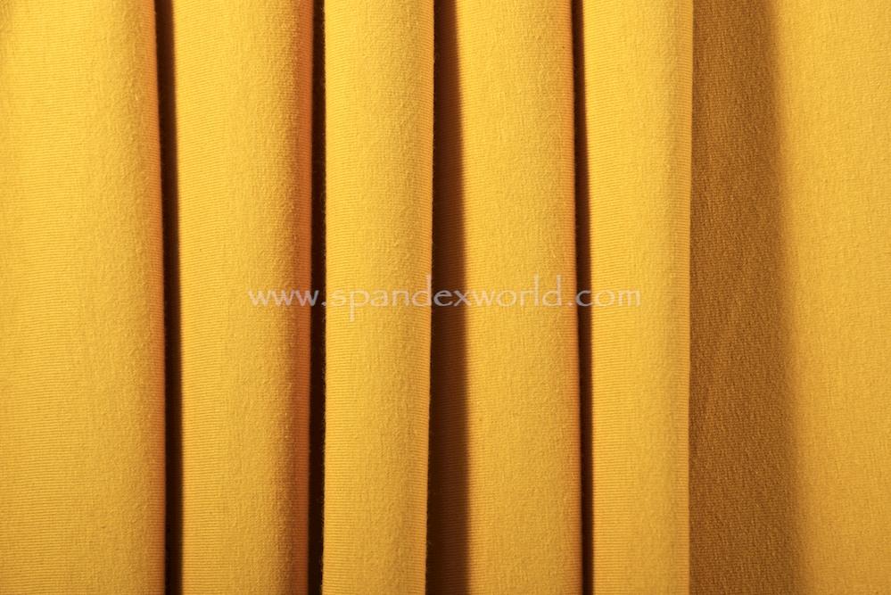 Cotton Lycra® (Mustard)(Medium-weight)