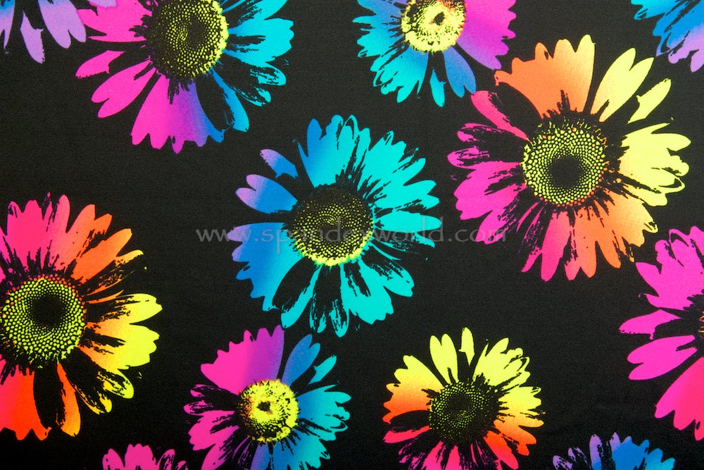 Floral Print (Black/Yellow/Orange/Multi)