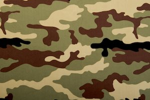 Printed Camouflage (Black/Olive/Multi)
