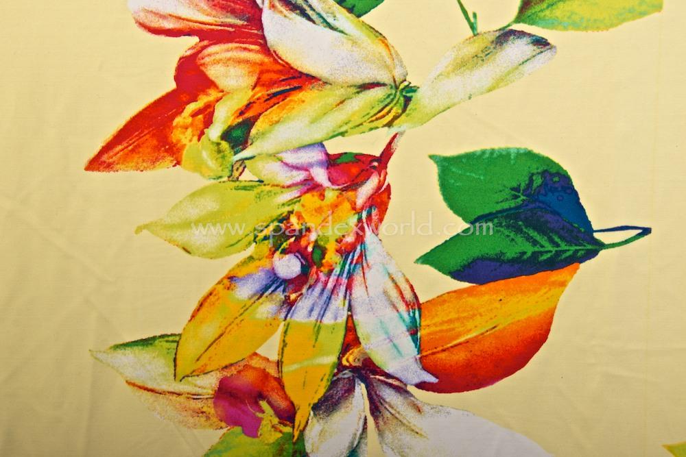 Floral Print (Cream/Green/Red/Multi)