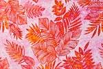 Leaf printed spandex (Pink/Fuchsia/White)