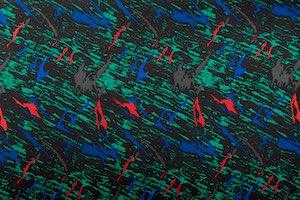 Abstract Print (Black/Green/Multi)