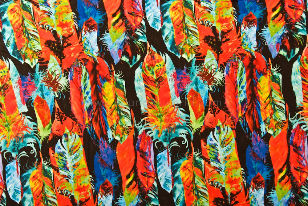 Abstract Print (Red/Green/Blue/Multi)